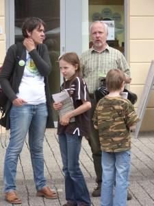 Öffentlichkeitsarbeit gegen das GVZ III Siekanger