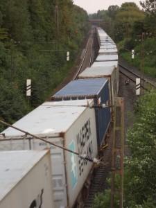 Güterzug am Leineberg