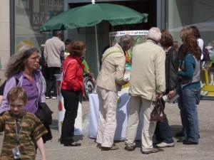 Öffentlichkeitsarbeit geben das GVZ III Siekanger, Sommer 2011