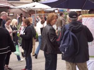 Öffentlichkeitsarbeit über das GVZ III am Marktplatz