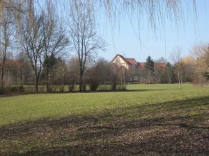 Parkidyll am Festen Haus des Maregelvollzugszentrums Niedersachsen, Teilstandort Gttingen