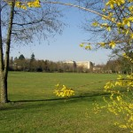 Bauplatz des neuen Maßregelvollzugszentrum in Göttingen