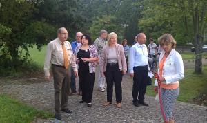 MdB Hartwig Fischer und der CDU Stadtverband am Siekanger