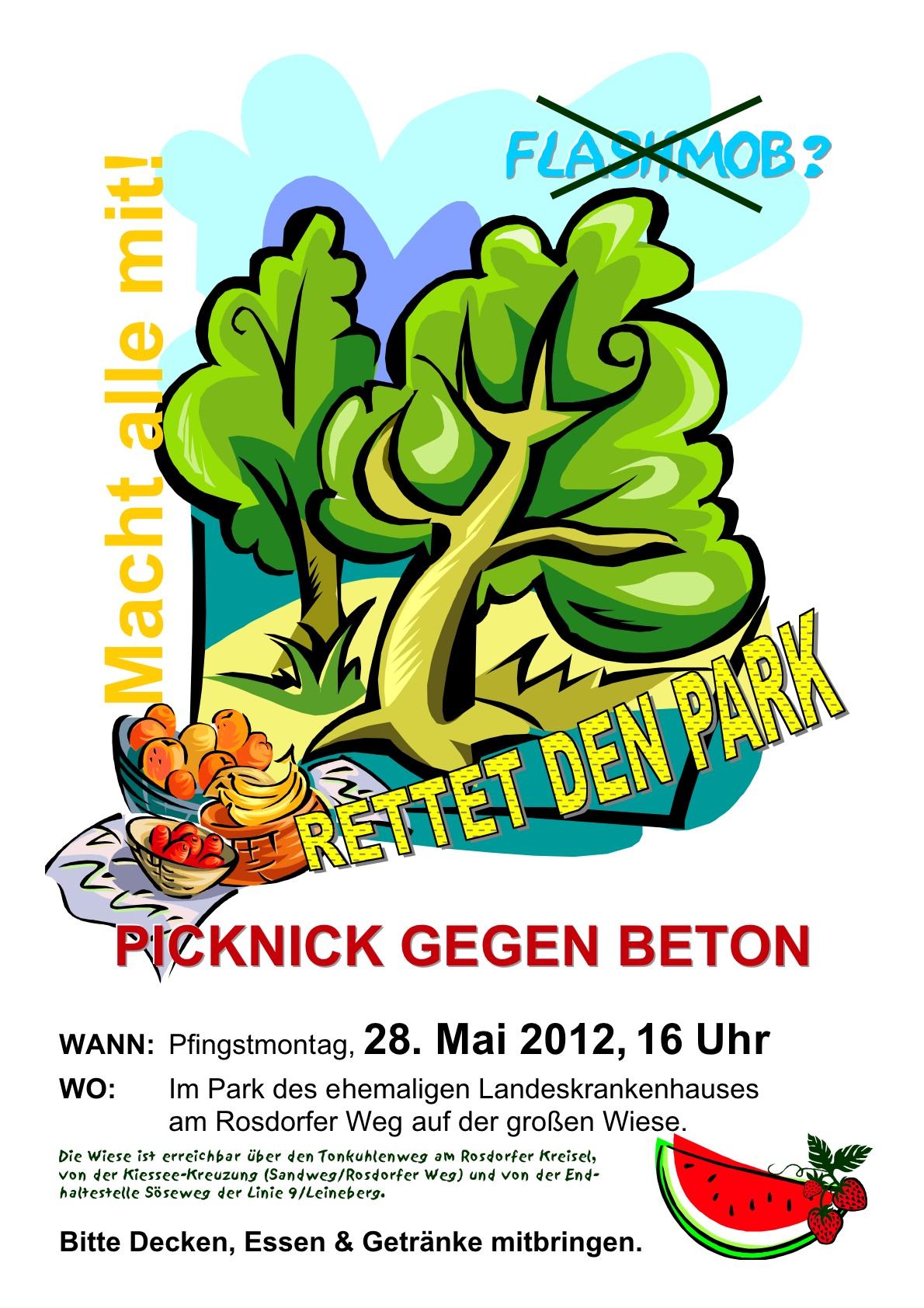 Rettet den Park des ehemaligen LKH Göttingen